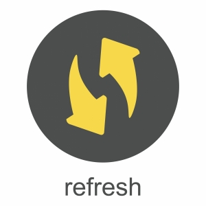refresh symbol graphic
