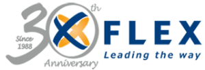 Flex 30th Anniversary Logo