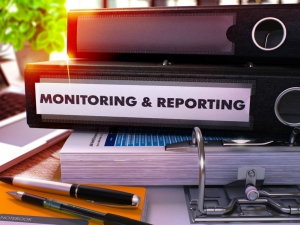 Office binders with Monitoring and Reporting