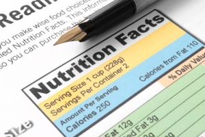 ACA Requires Nutrition Labeling of Standard Menu Items